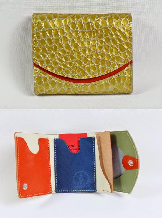 小さい財布キラキラトカゲ