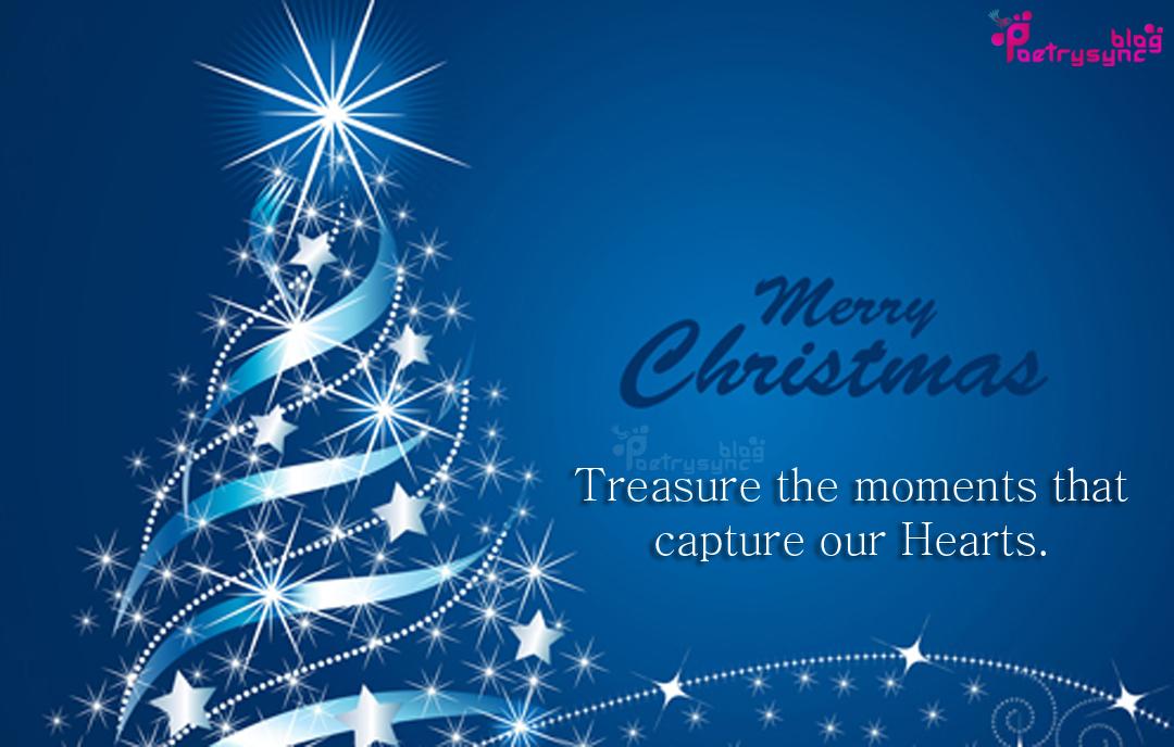 Merry Christmas Tree Images With Christmas Quotes Hindi Shayari