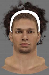 NBA 2K13 Robin Lopez Cyberface Headband