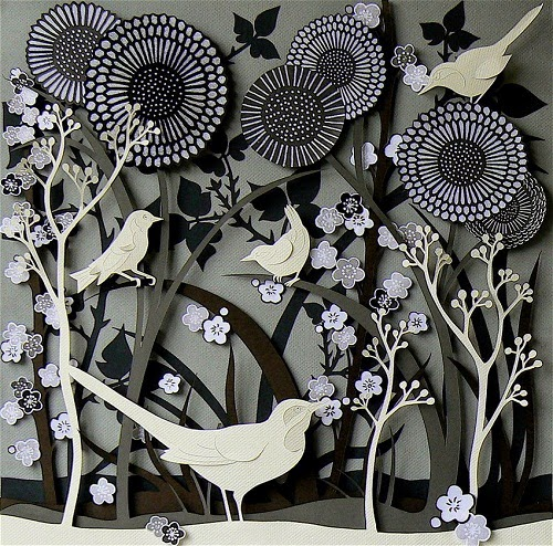 Incredible paper artwork by Helen Musselwhite