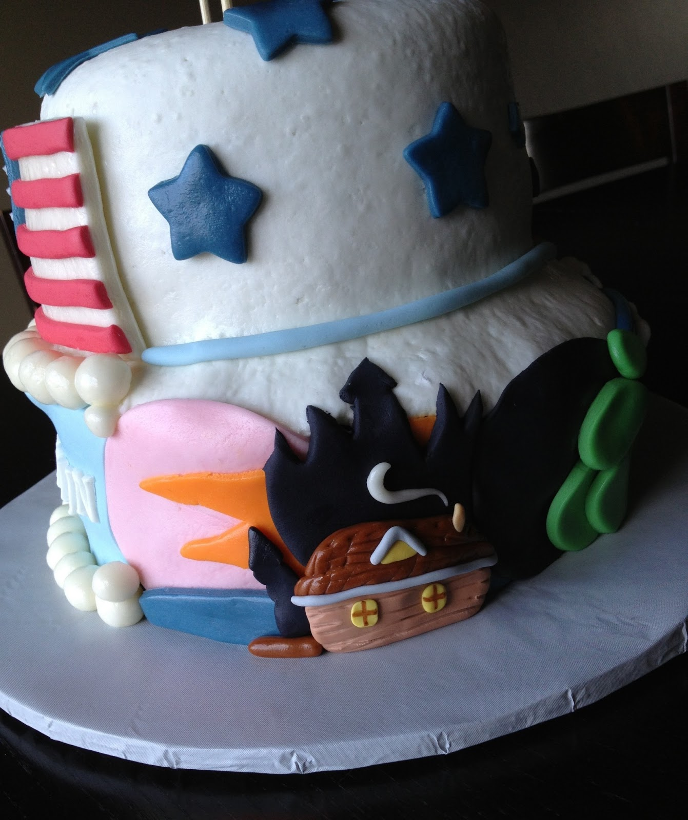 Custom Cakes By Julie: American Themed Cake