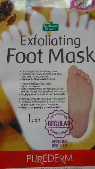 Носочки для пилинга Purederm Exfoliating Foot Mask: облезут все!