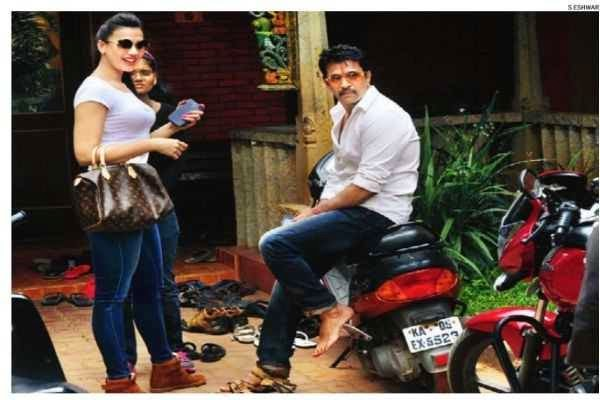 Arjun Sarja flooded with photo requests