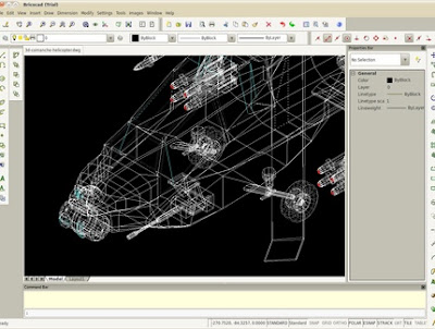Bricscad AutoCAD for Linux