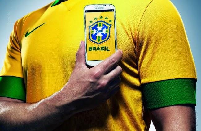 aplicativos para torcer para o Brasil na Copa do Mundo