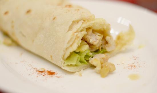 Zabadani Chicken Shawarma (P105.00)