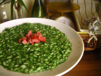 risotto verde aromatico