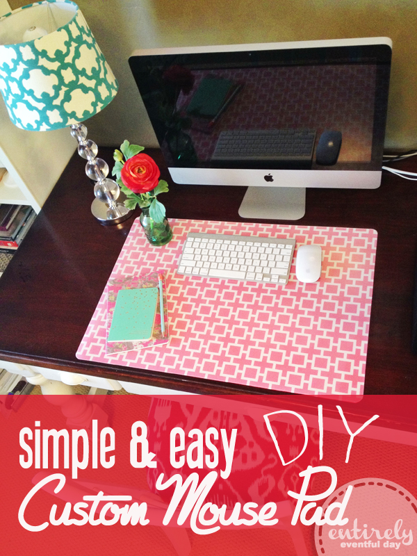 How to Make a Custom Desk Pad