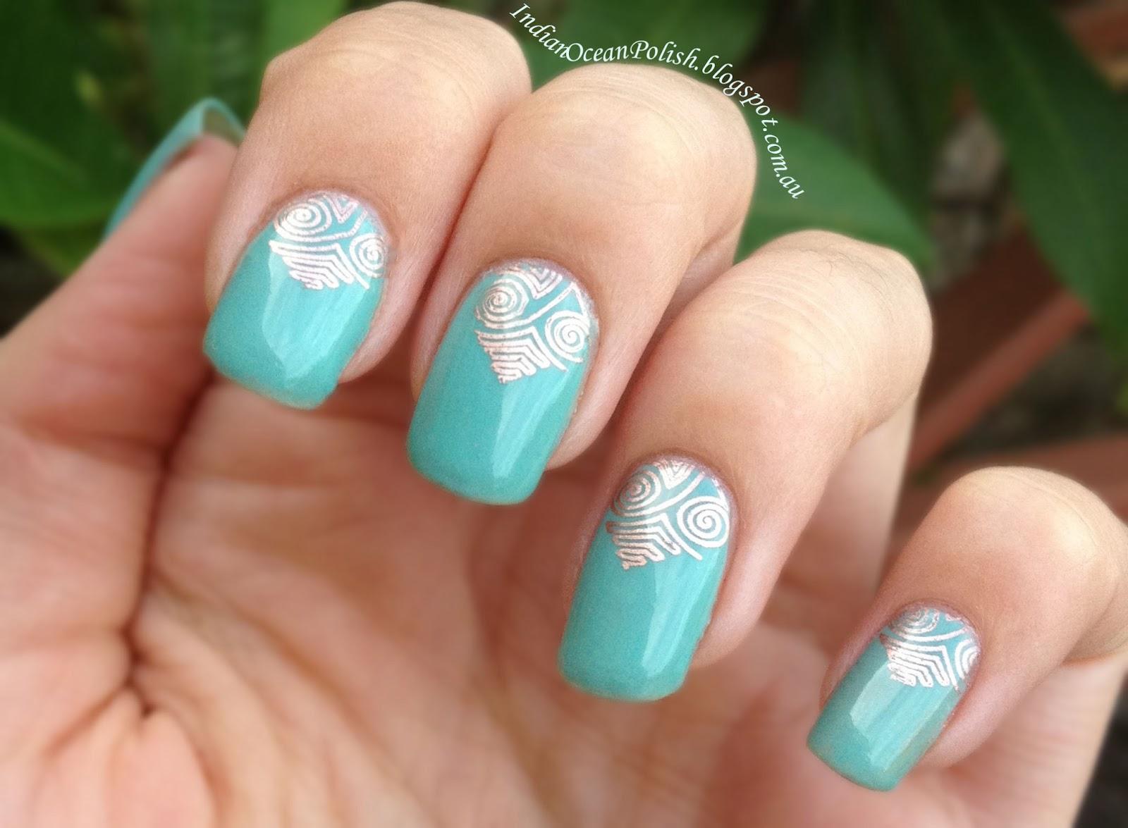 Ocean Gel Nail Designs