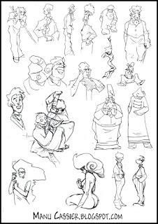 L 39 univers bd de manu cassier croquis de personnages bd for Je dessine ma maison
