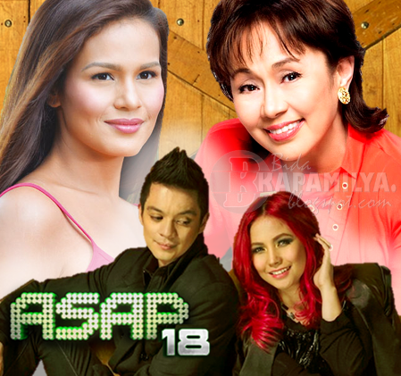 Vilma Santos, Bamboo, Yeng and Iza Calzado Extra Treats on ASAP 18 (August 11)