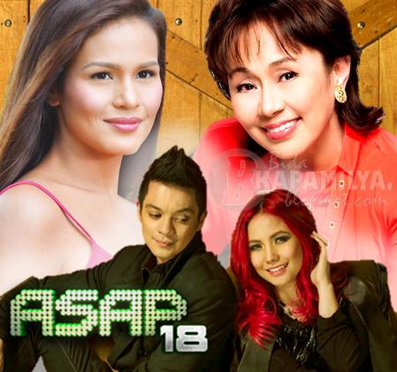 Vilma Santos, Bamboo, Yeng and Iza Calzado Extra Treats on ASAP 18 (August 11)