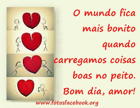 Imagem de Bom Dia Para Meu Amor corações