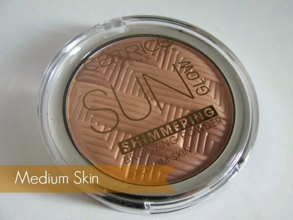 Catrice Sun Glow Shimmering Bronzing Powder - Medium Skin