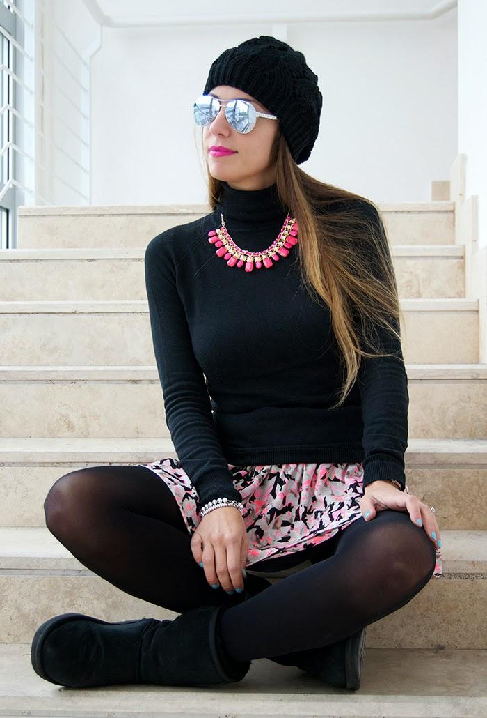 nero e rosa