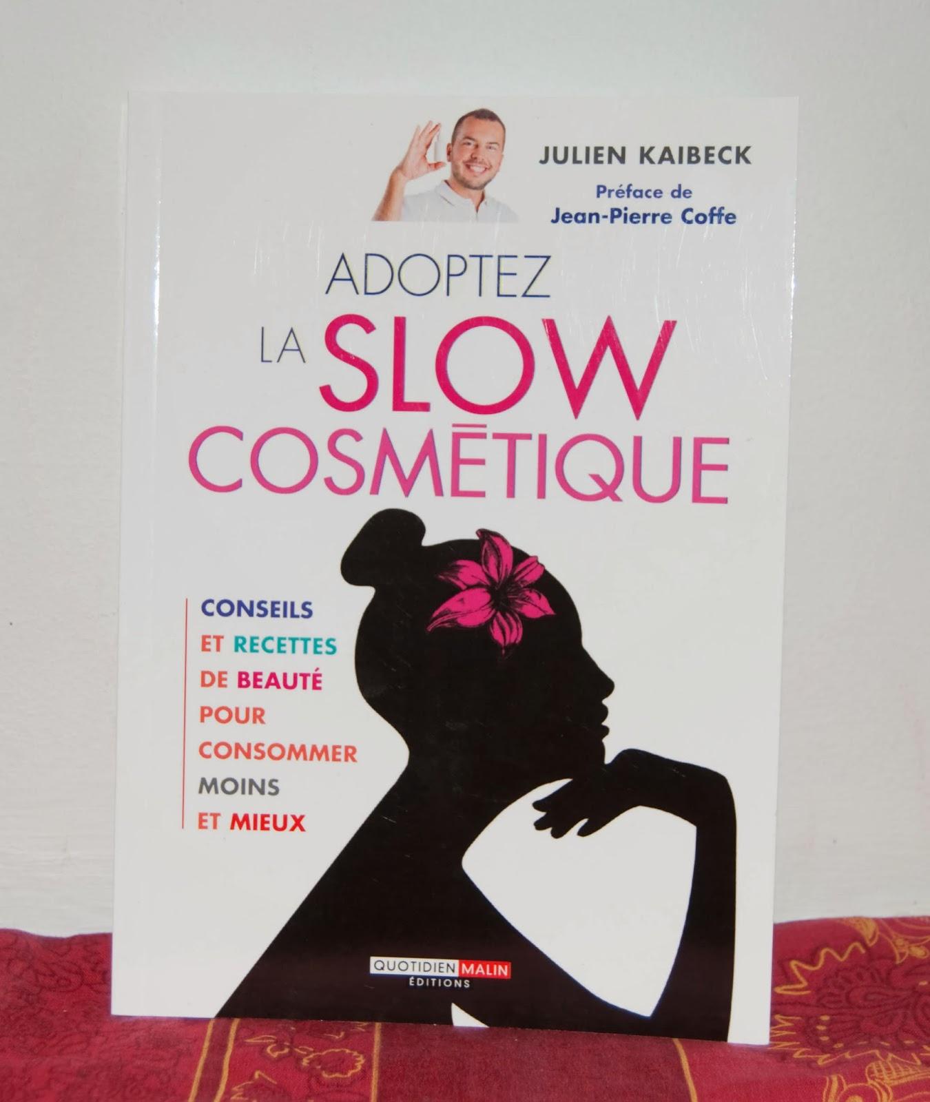 livre, slow cosmetique