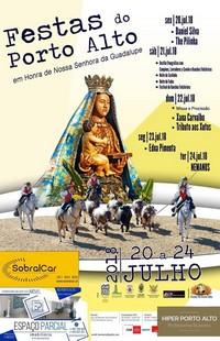 Porto Alto- Festas em Hª de Nª Srª da Guadalupe 2018