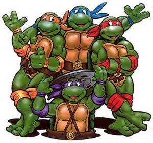MUNDO RETRO: Tortugas Ninja