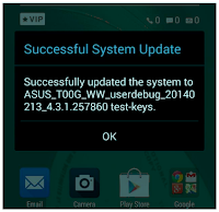 Successful System Update