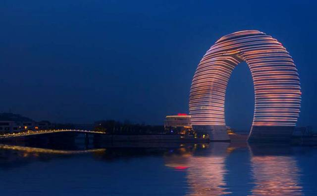 Sheraton will open 15 new hotels across China over the next 12 months, including the striking Sheraton Huzhou Hot Spring Resort (pictured below), moving Starwood closer to its target of 80 properties in China by the end of 2015.
