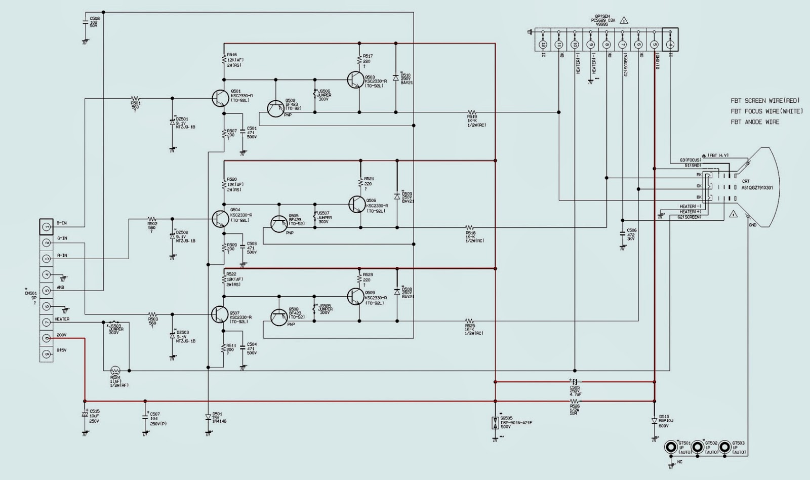 Crt Wiring Diagram Discover Your Block Of The Diagrams For Car Or