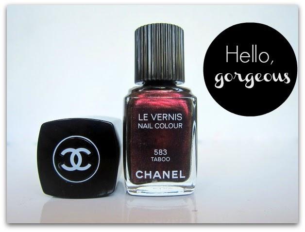 Chanel Taboo Le Vernis Nail Polish
