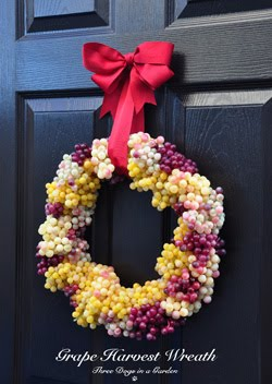 Grape Harvest Wreath