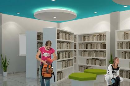 Jasa Interior desain Gedung Perpustakaan Exterior Murah Cepat dan Berpengalaman