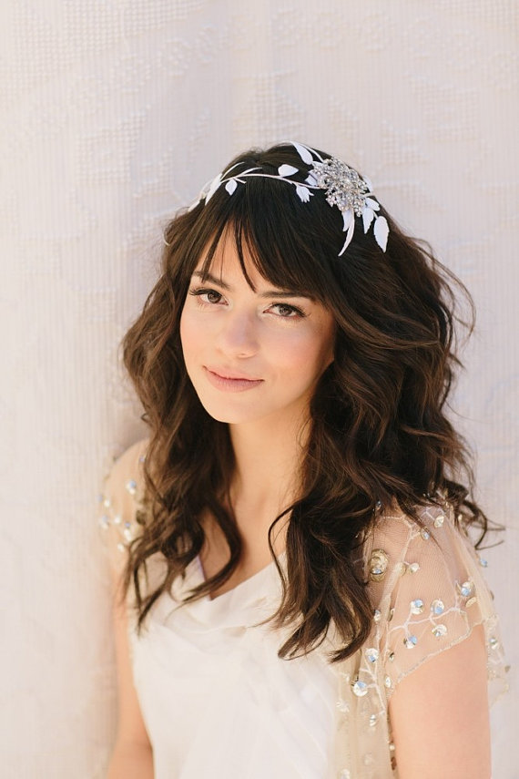 Inspiration coiffures de mariage tout pour mon mariage - Coiffure simple mariage invite ...