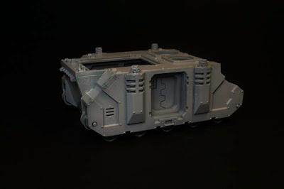 Razorback montado