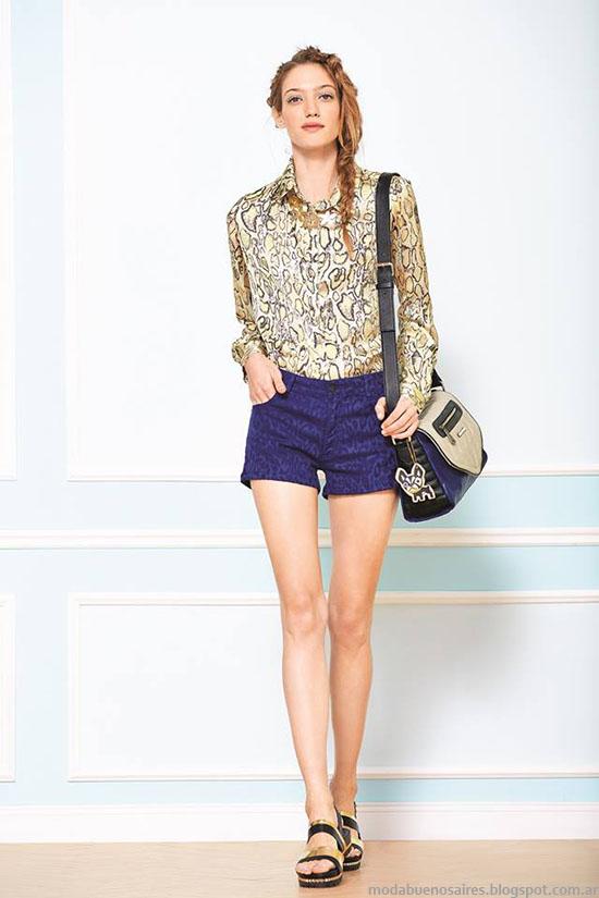 Uma primavera verano 2015 indumentaria femenina.