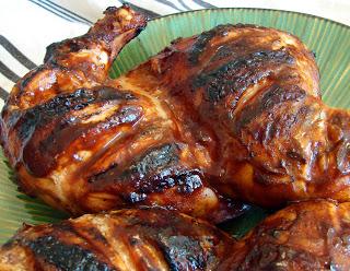 A Friendly Barbecue Chicken
