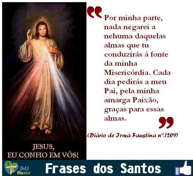 Comunidade Anunciadores Da Misericórdia Frases Dos Santos