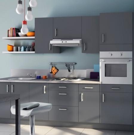 Cuisine 2013 zoom sur les tendances d coration de meuble for Cuisine peinte en gris perle
