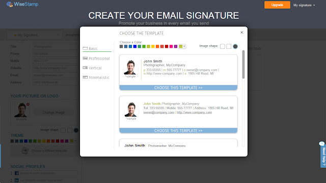 Как сделать подпись для gmail 828
