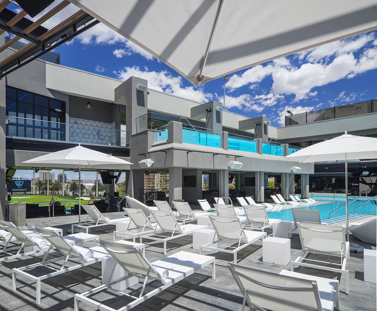 I love las vegas magazine blog full list of summer events at topgolf las vegas for Las vegas swimming pools open to public