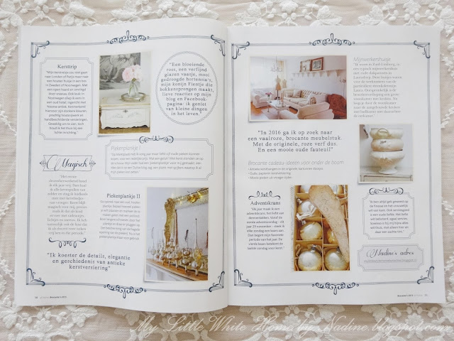 My little white home by nadine interview ariadne at for Magazine ariadne at home