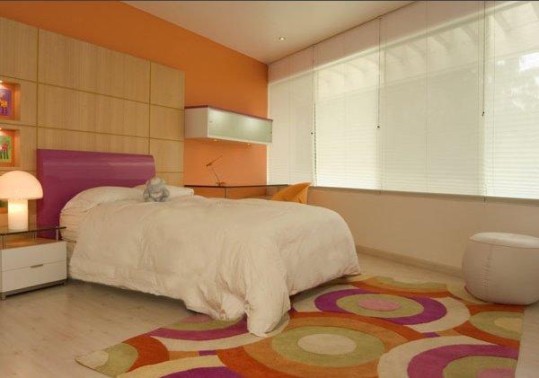 D design enero 2012 for Dormitorio naranja