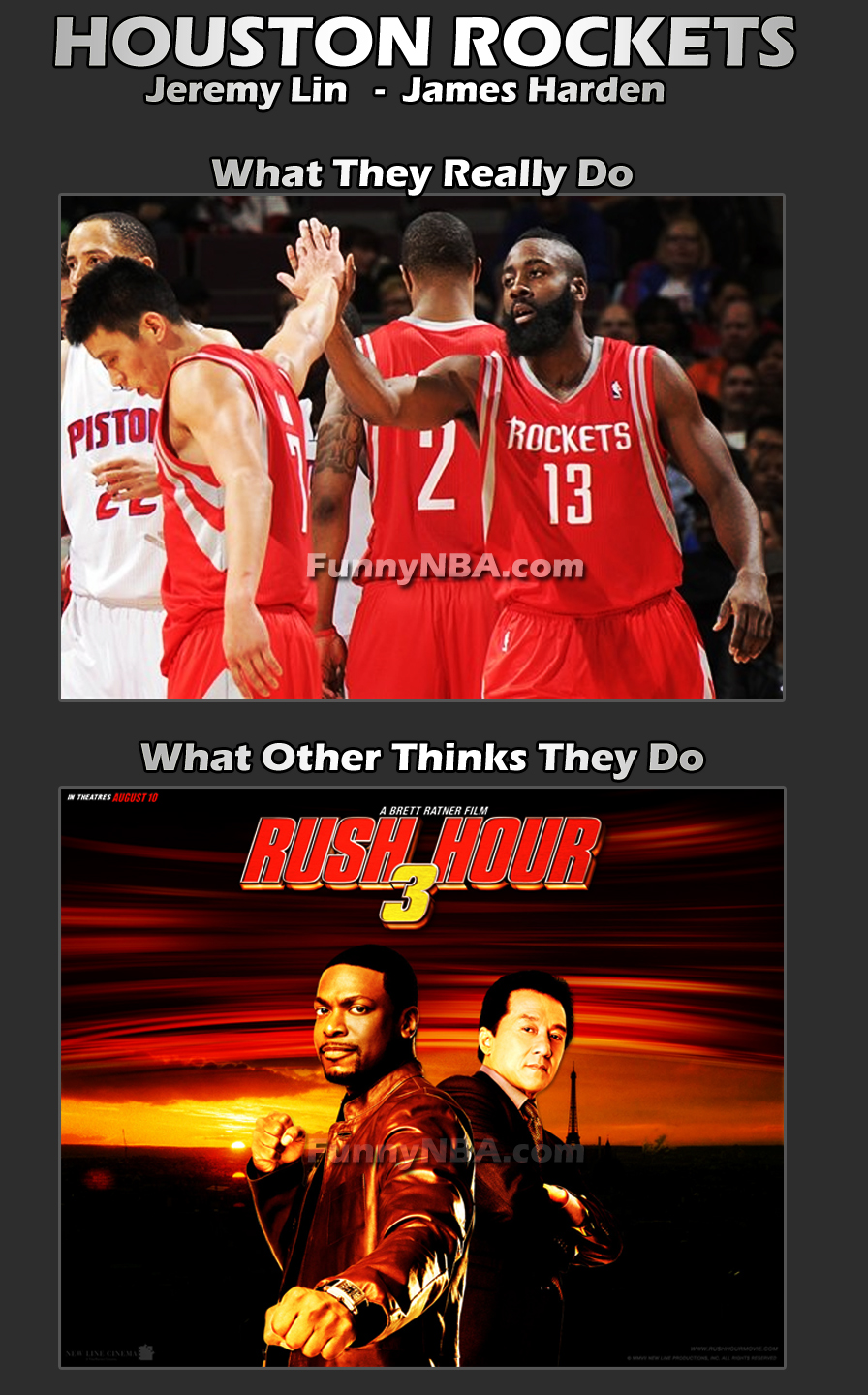 What They Think About Jeremy Lin and James HardenRush Hour 4 Jeremy Lin James Harden