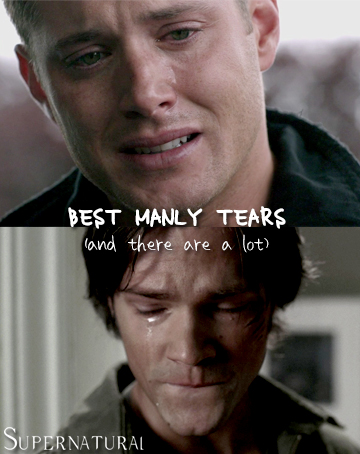 Supernatural: Top 10 Best Manly Tears by freshfromthe.com