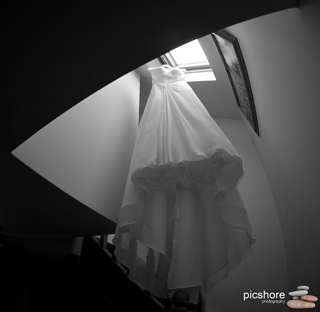 wedding dress devon Picshore Photography