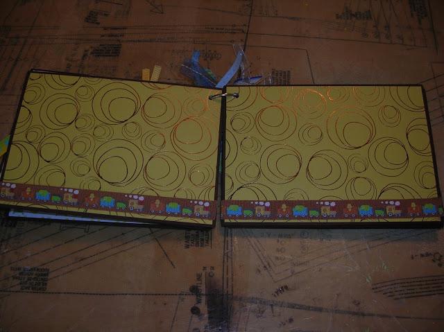 SEI pattern papers in mini album
