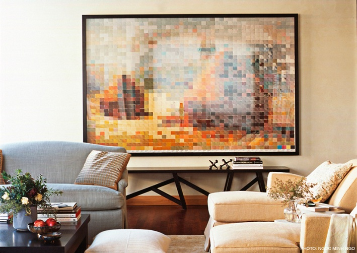 Cool designer alert ann wolf modern diy art designs for Ann wolf interior decoration