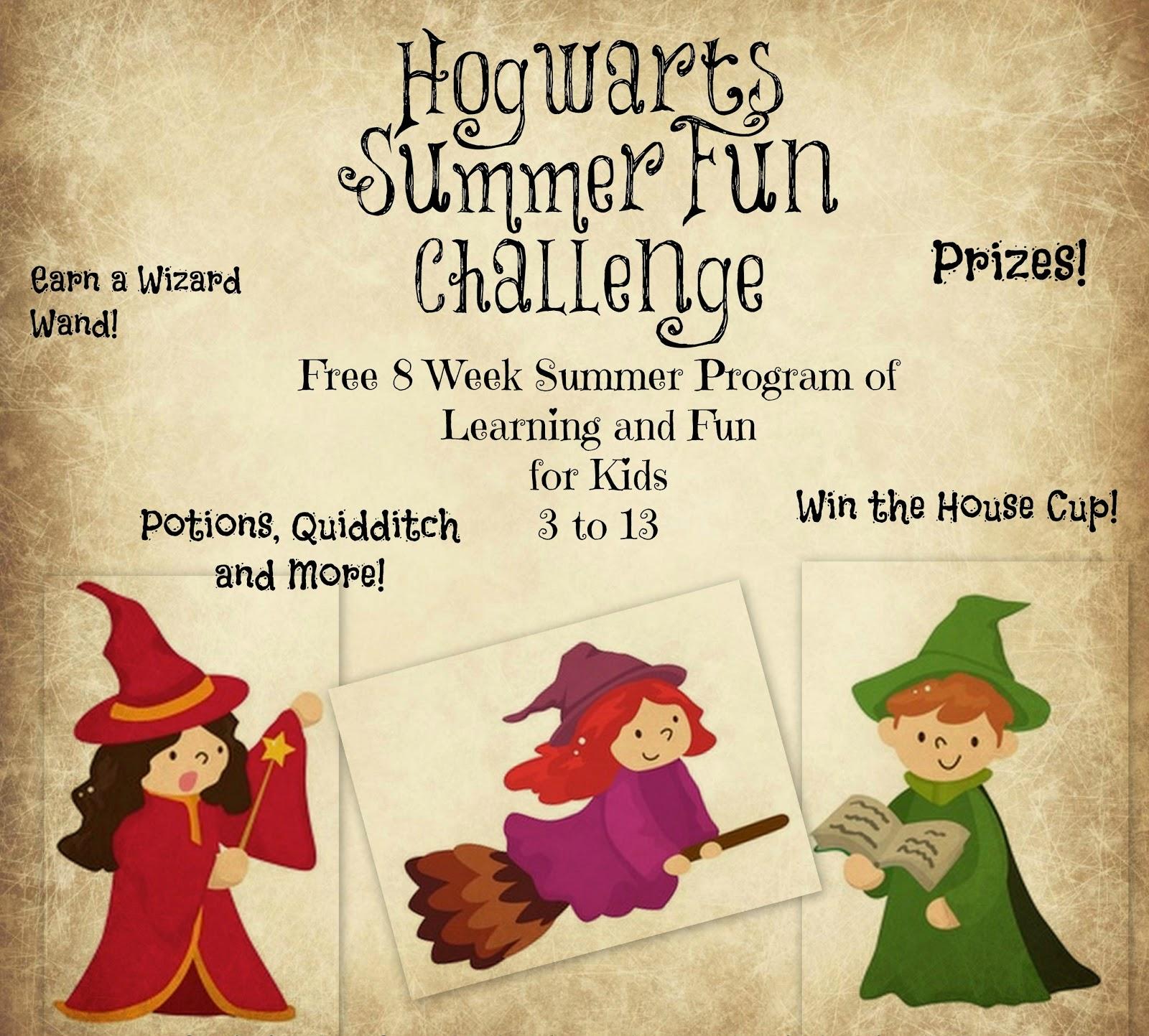 Puddle Wonderful Learning: Elementary Activities: The Hogwarts ...