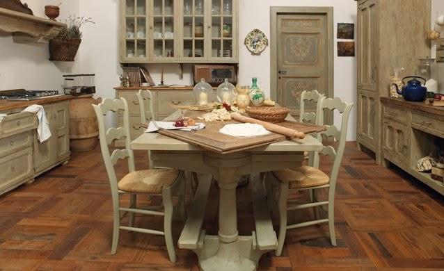 Inspiration shabby cucine shabby e provenzali - Cucine stile provenzale ...