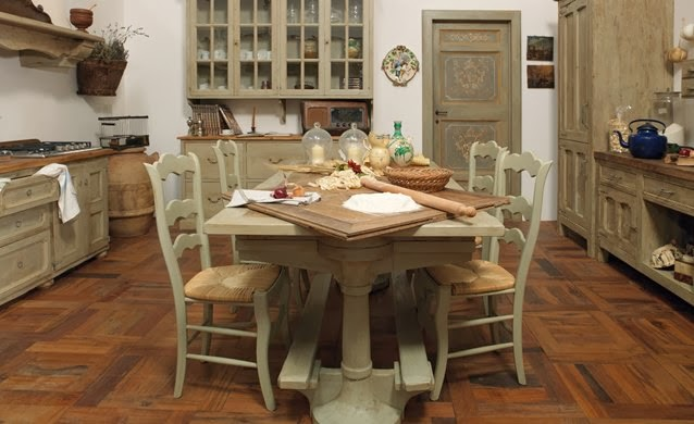 Inspiration shabby cucine shabby e provenzali - Cucine provenzali francesi ...
