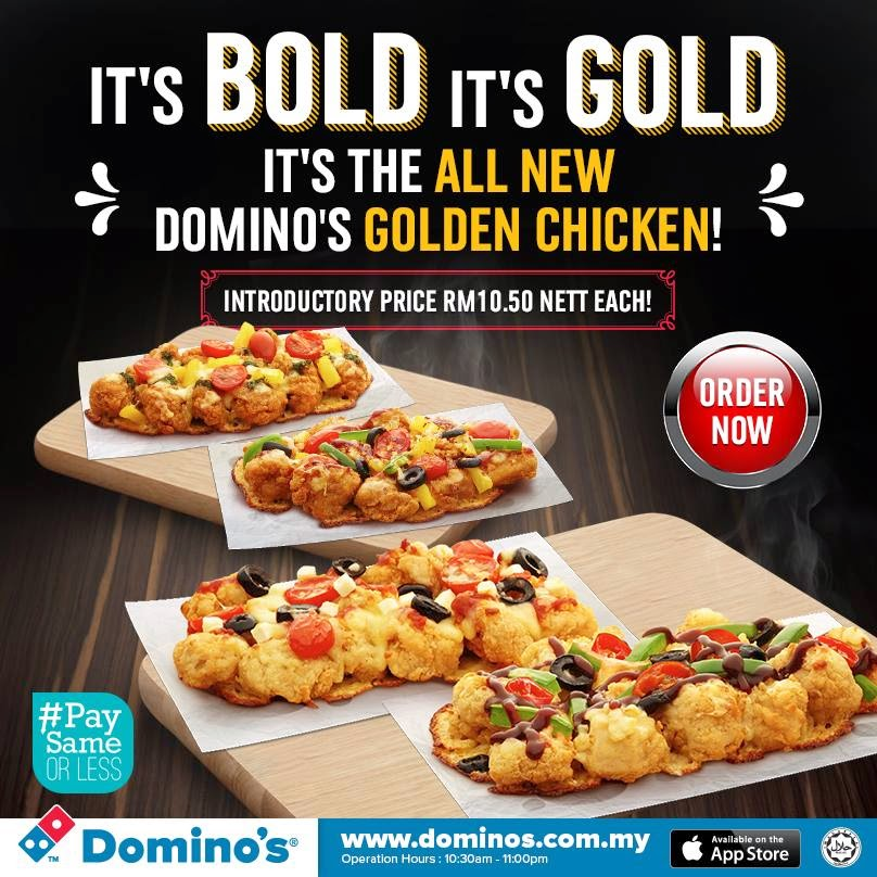 dominos campaign If your domino's is not the busiest local pizzeria in your neighborhood 1969: domino's introduces the tri-color amc javelin as the official delivery vehicle for its new image campaign 1983: domino's first international store opens in winnipeg, canada.