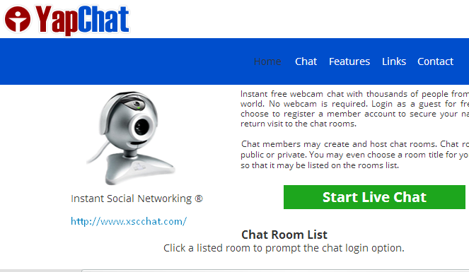 yapchat webcam