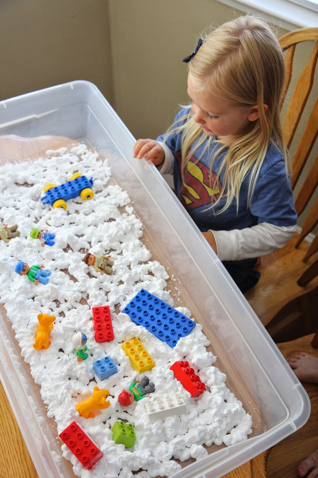Toddler Approved Sensory Play With LEGO Bricks