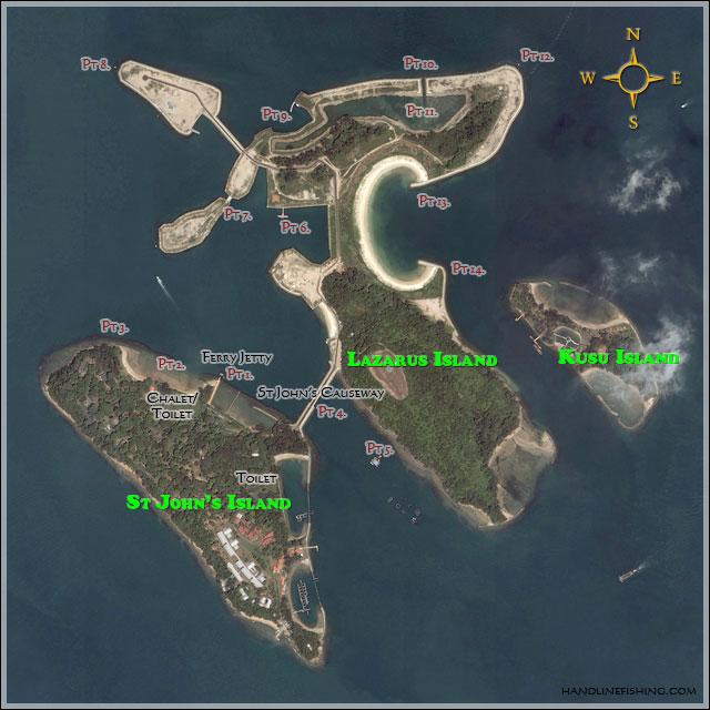 St John Island Map